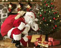 Babbo natale express gli scout di mercogliano al servizio - Babbo natale porta i regali ai bambini ...