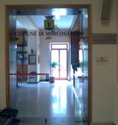 Sala consiliare, ingresso