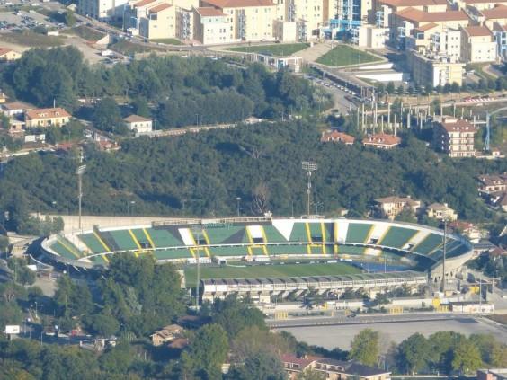 Stadio Partenio, veduta aerea