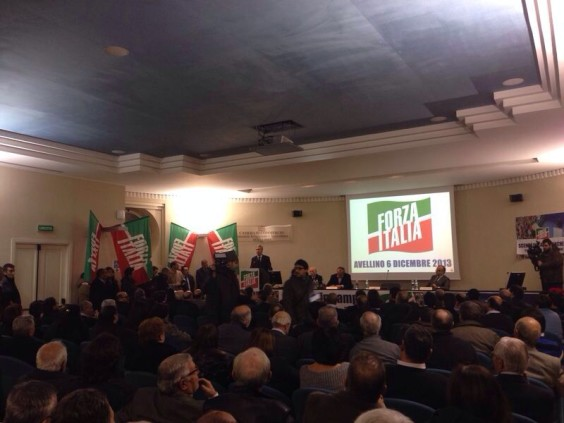 Forza Italia rinasce in Irpinia