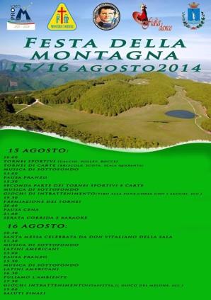 festa montagna