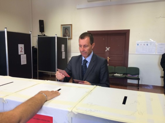 Carullo al voto provincia