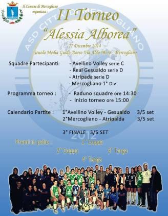 II Torneo di Pallavolo Alessia Alborea