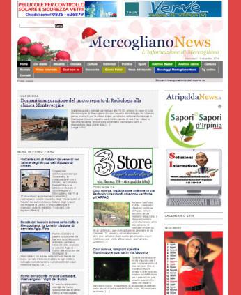 Nuova homepage Mercogliano News