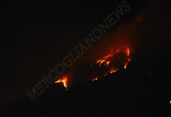incendio montagna montevergine 1