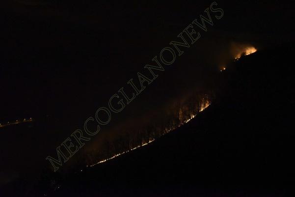 incendio montagna montevergine 2