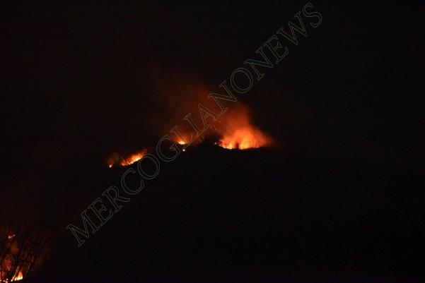 incendio montagna montevergine 3