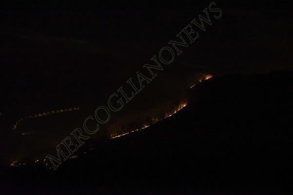 incendio montagna montevergine 4