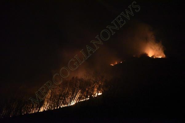 incendio montagna montevergine 5