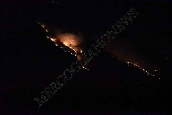 incendio montagna montevergine 6