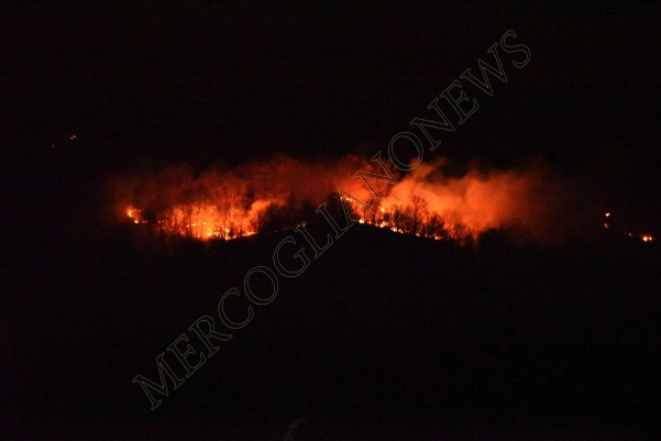incendio montagna montevergine 7