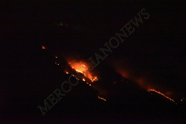 incendio montagna montevergine 8