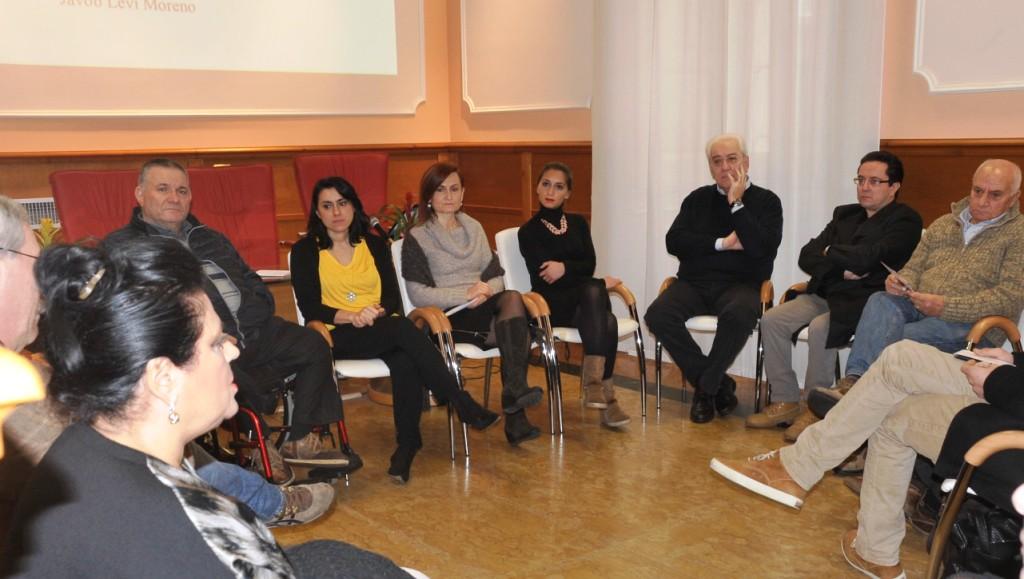 presentazione al circolo della stampa con il Sindaco di Avellino e altri rappresentanti istituzioni