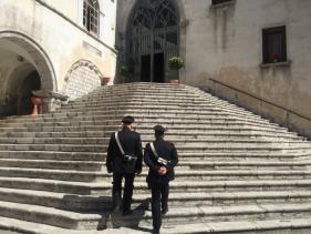 Carabinieri al Santuario, posto fisso 1