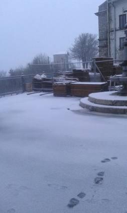 Neve a Montevergine aprile 2016