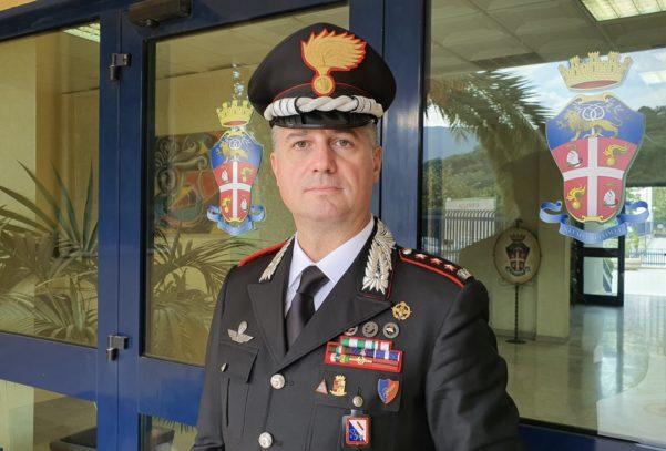 Il colonnello Luigi Bramati nuovo Comandante Provinciale dei Carabinieri di Avellino